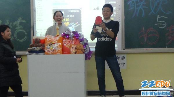 郑州博爵国际学校举行学分拍卖会