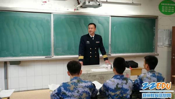 海军招飞办领导走进兴发慰问海军青少年航校学子