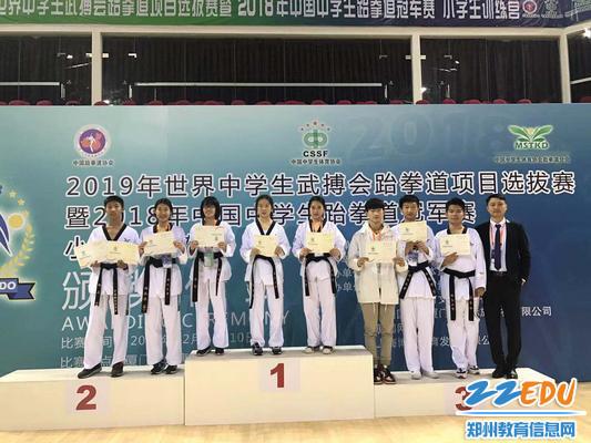 """必发88""""2018年中国中学生跆拳道冠军赛""""获佳绩"""