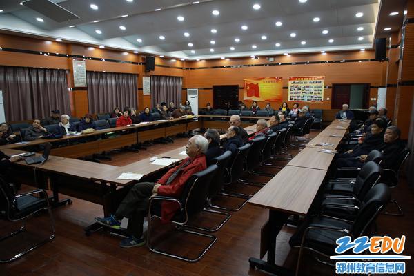 www.xf187.com召开离退休干部大会 学习飞速发展的中国之高铁十年